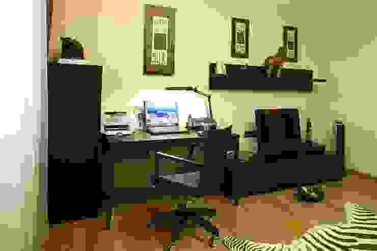 кабинет, стиль контемпорари ( современный) от LO designer / architect - designer ELENA OSTAPOVA