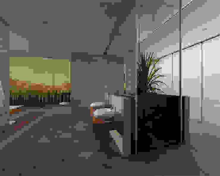 Baños minimalistas de Kameleon - Kreatywne Studio Projektowania Wnętrz Minimalista