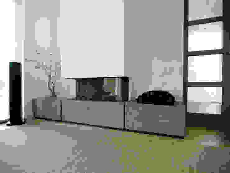 Schindler interieurarchitecten Livings de estilo moderno