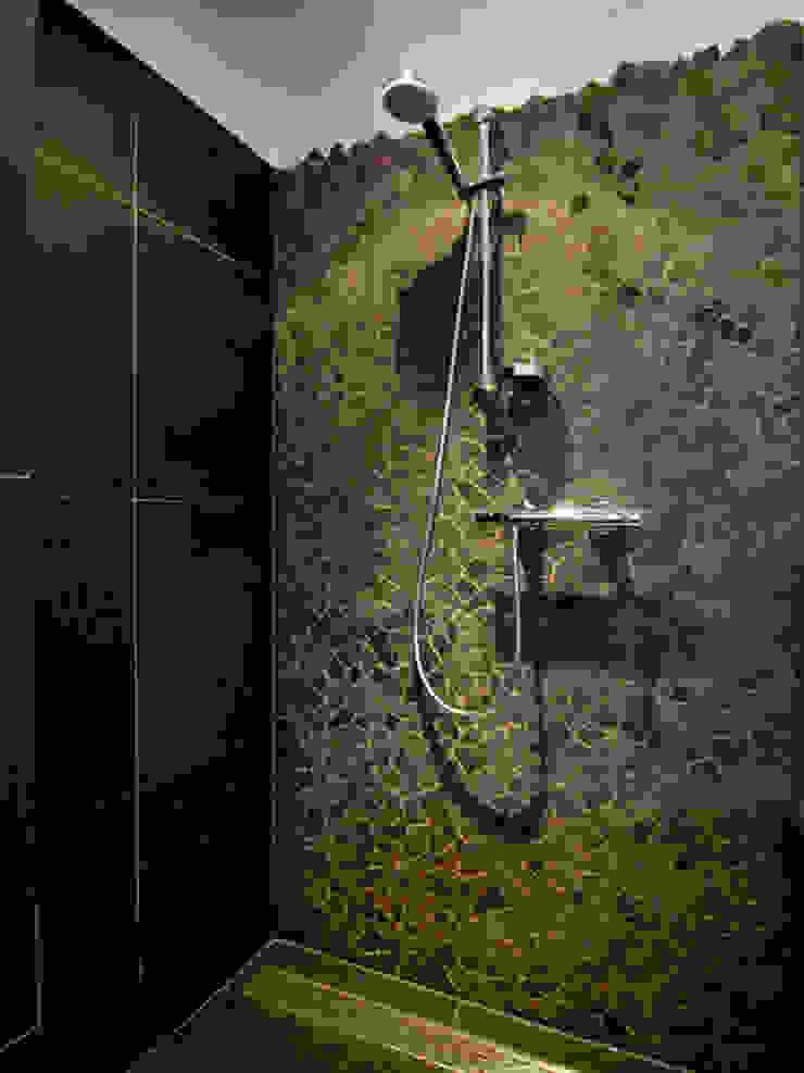Brokkelrand in douche Moderne badkamers van Schindler interieurarchitecten Modern