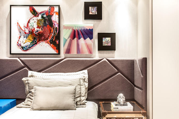 Barbara Dundes | ARQ + DESIGN Chambre moderne