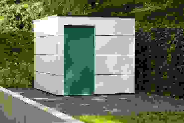 Garasi Modern Oleh Gartenhauptdarsteller Modern