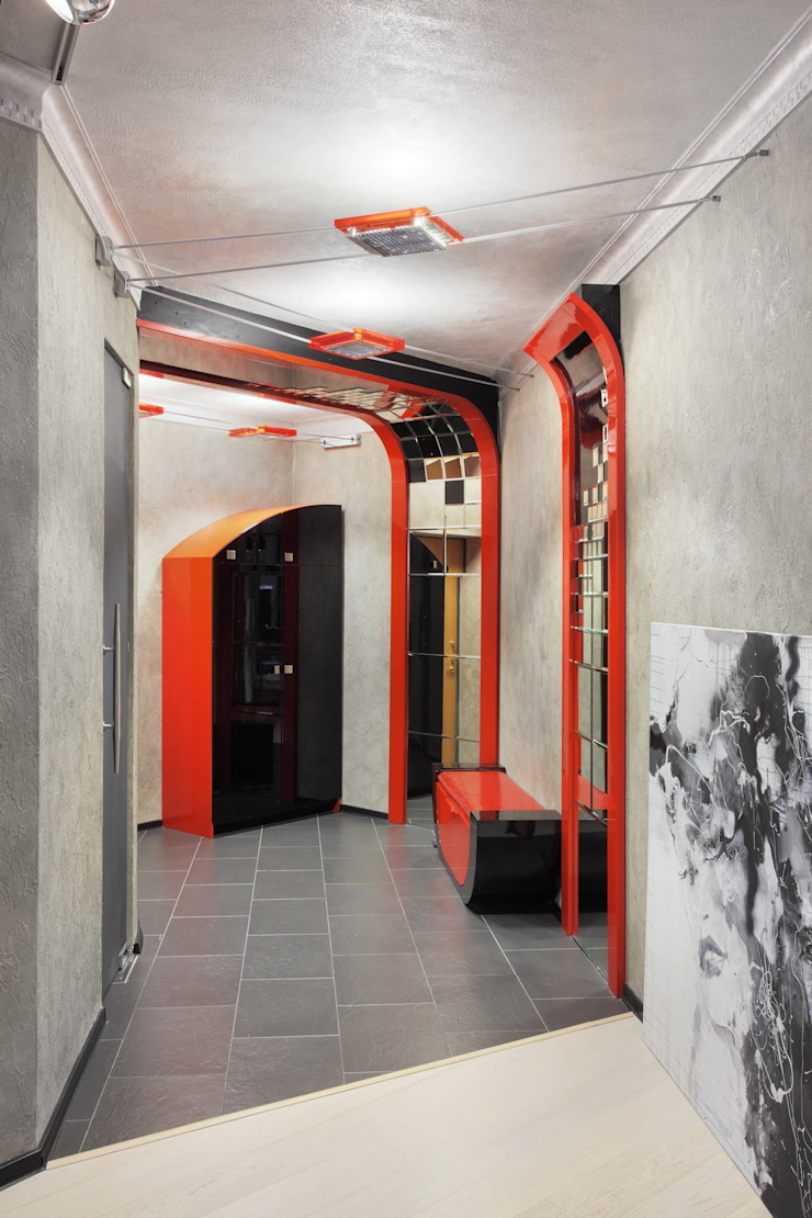 интерьер как современное искусство:  в современный. Автор – LO designer / architect - designer ELENA OSTAPOVA, Модерн
