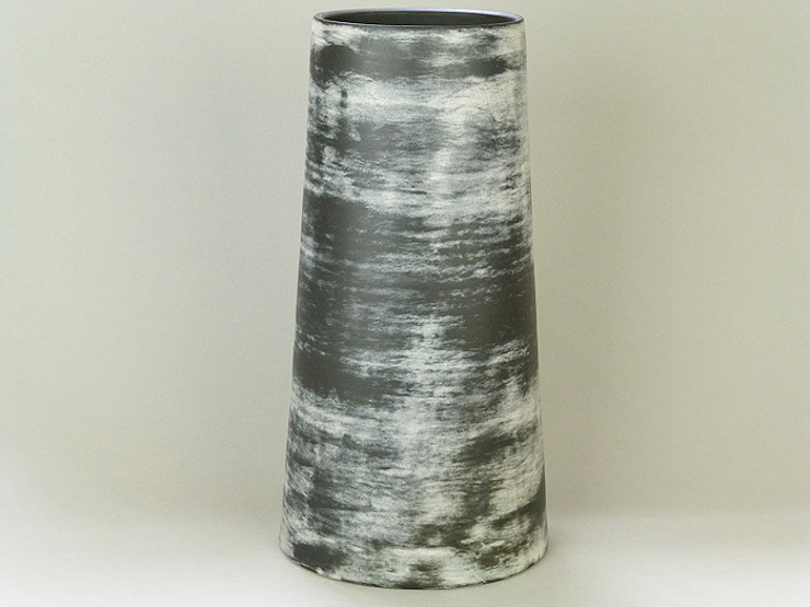 Nebula Cylinder, 31cm: minimalist  by Andrew Temple Smith Ceramics, Minimalist