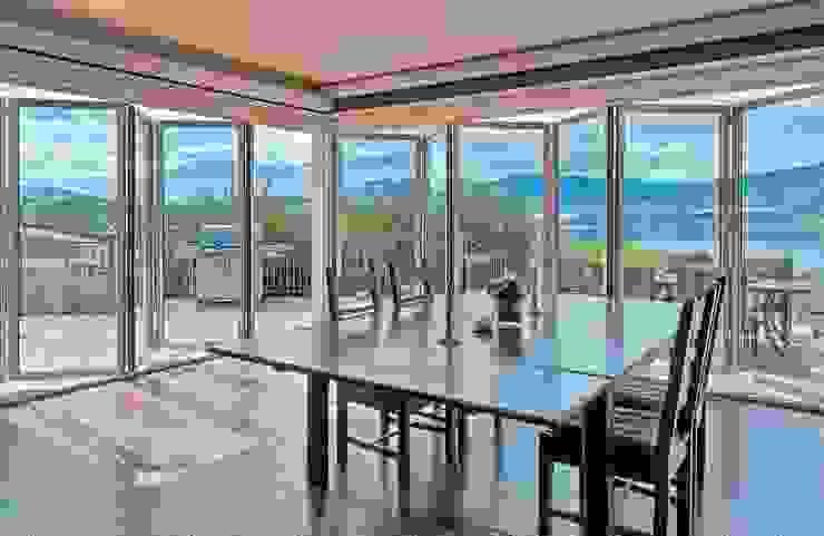 Glas-Faltwand SF 75, Projekt USA Klassischer Balkon, Veranda & Terrasse von SUNFLEX Aluminiumsysteme GmbH Klassisch