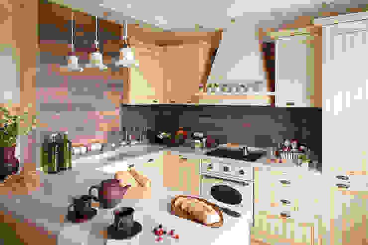 Квартира Кухня в классическом стиле от арт-квартира Классический