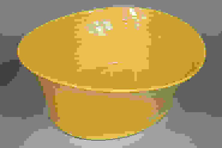 Eccentric Bowl, porcelain, 24cm: minimalist  by Andrew Temple Smith Ceramics, Minimalist