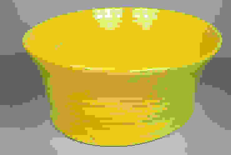 Eccentric Bowl, porcelain, 29cm: minimalist  by Andrew Temple Smith Ceramics, Minimalist