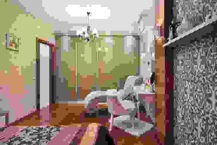спальня, стиль контемпорари от LO designer / architect - designer ELENA OSTAPOVA