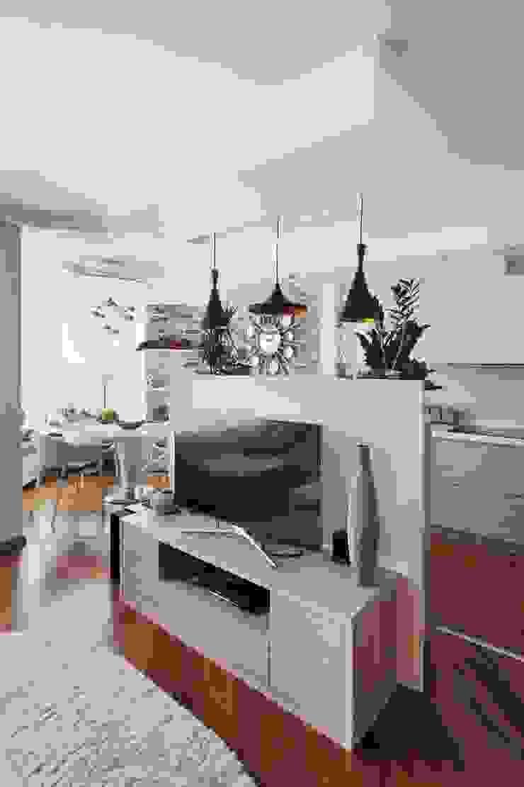 кухня - столовая, стиль контемпорари от LO designer / architect - designer ELENA OSTAPOVA