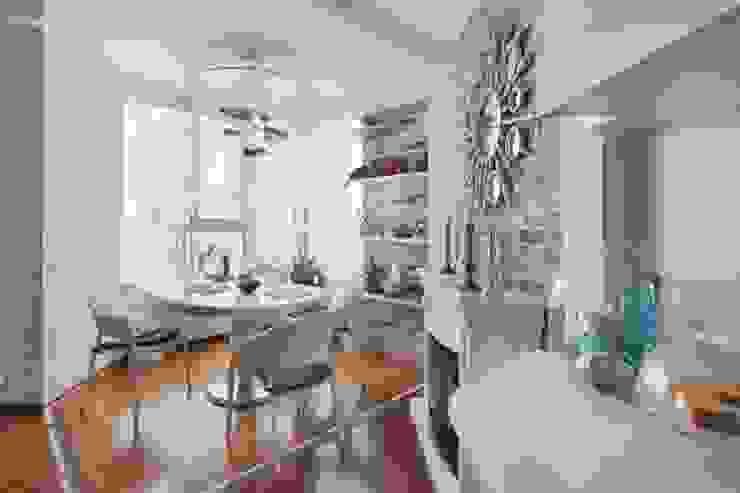 столовая, стиль контемпорари от LO designer / architect - designer ELENA OSTAPOVA