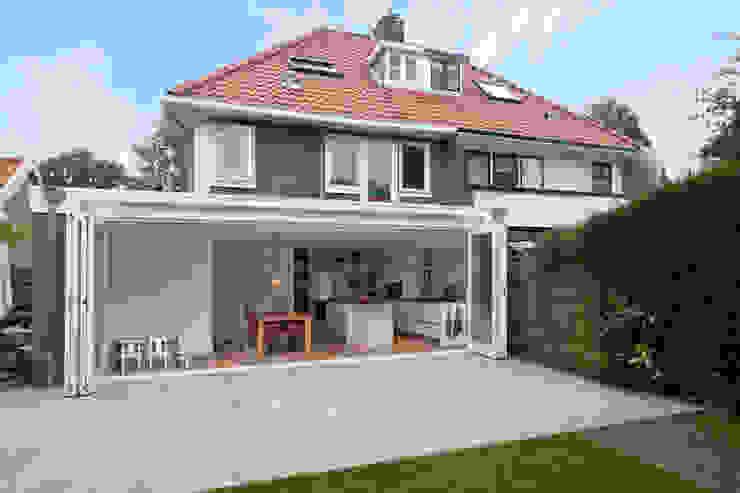 Vergunningsvrije uitbouw Bussum Moderne balkons, veranda's en terrassen van Het Ontwerphuis Modern