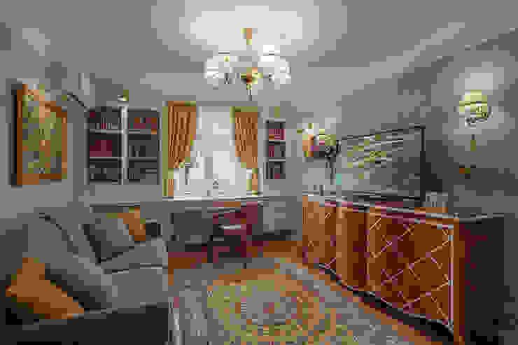 гостиная Гостиная в классическом стиле от Bituleva Project Классический