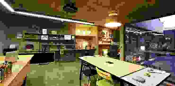 Scandinavian style offices & stores by Hiyeldaim İç Mimarlık & Tasarım Scandinavian
