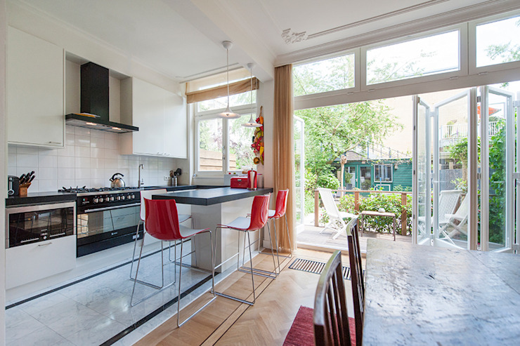 Cocinas de estilo  por Het Ontwerphuis,
