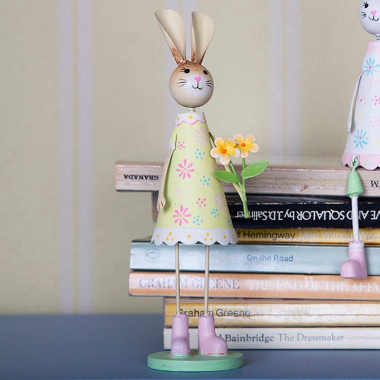Lady Bunny Standing Decoration: country  by Sass & Belle, Country