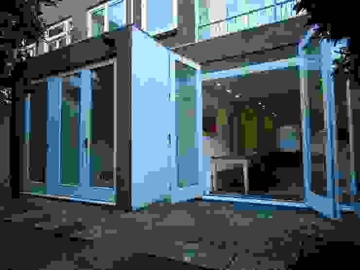 Luxe verbouwing Amsterdam Moderne balkons, veranda's en terrassen van Het Ontwerphuis Modern