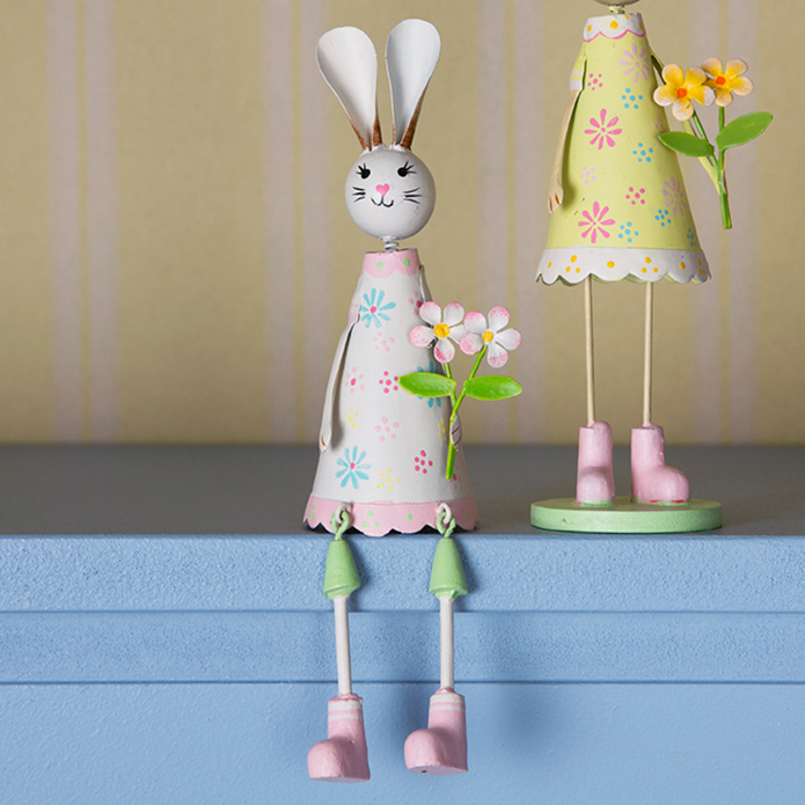Lady Bunny Dangling legs Decoration: country  by Sass & Belle, Country