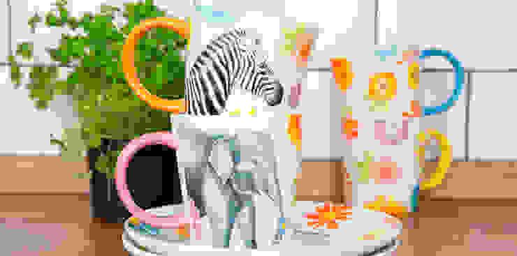 Safari Floral Mugs: modern  by Sass & Belle, Modern