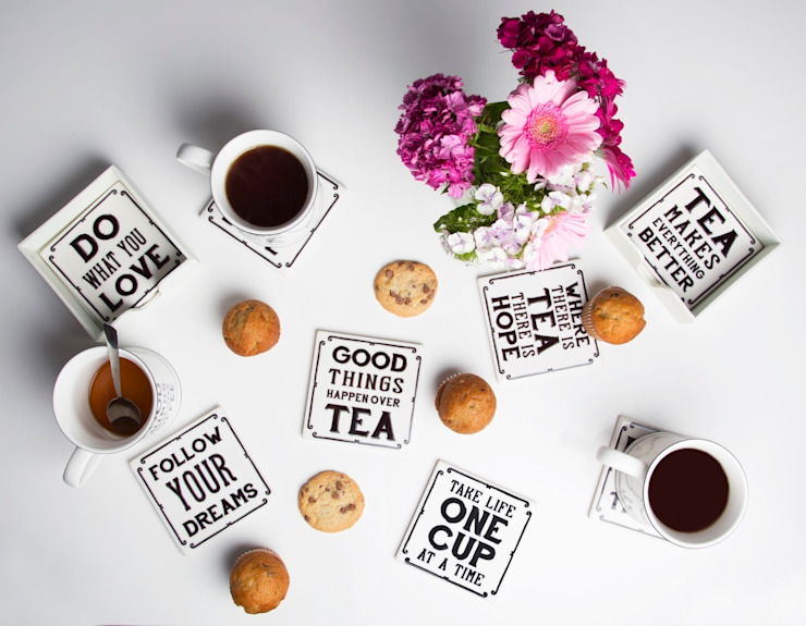 sayings Coasters: modern  by Sass & Belle, Modern