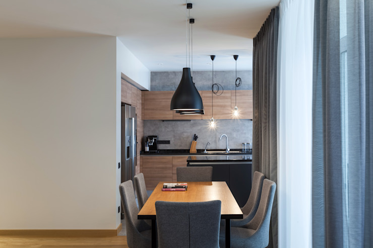 Квартира с характером Кухня в стиле минимализм от LPetresku Минимализм