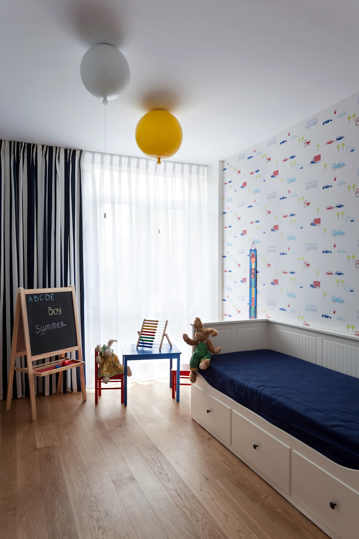 Квартира с характером Детская комнатa в стиле минимализм от LPetresku Минимализм