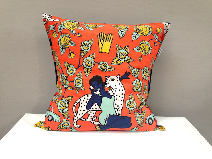 Cushions: eclectic  by Porcupine Rocks Ltd, Eclectic