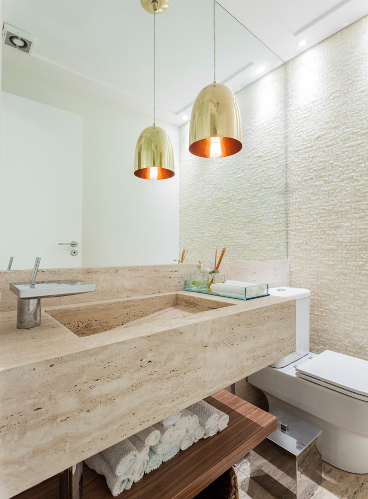 Modern style bathrooms by ARQ_IN Modern
