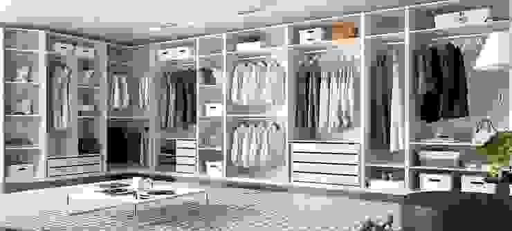 Armario vestidor con mucha capacidad de almacenaje de Muebles Fun Moderno