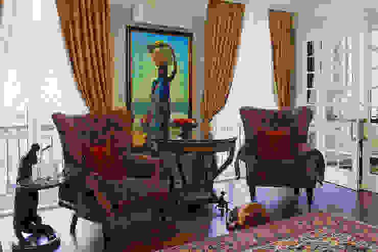 Гостиная: Гостиная в . Автор – Bituleva Project,