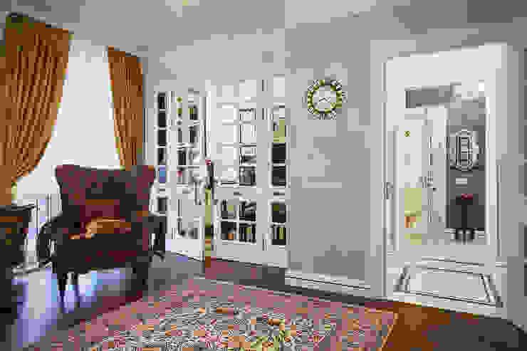 Гостиная Гостиные в эклектичном стиле от Bituleva Project Эклектичный