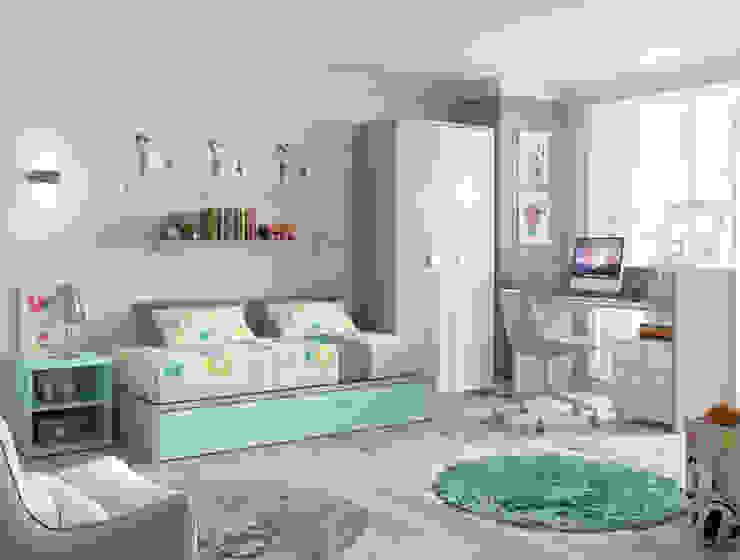 Cuna convertida a cama de 90x190cm de Muebles Fun Moderno