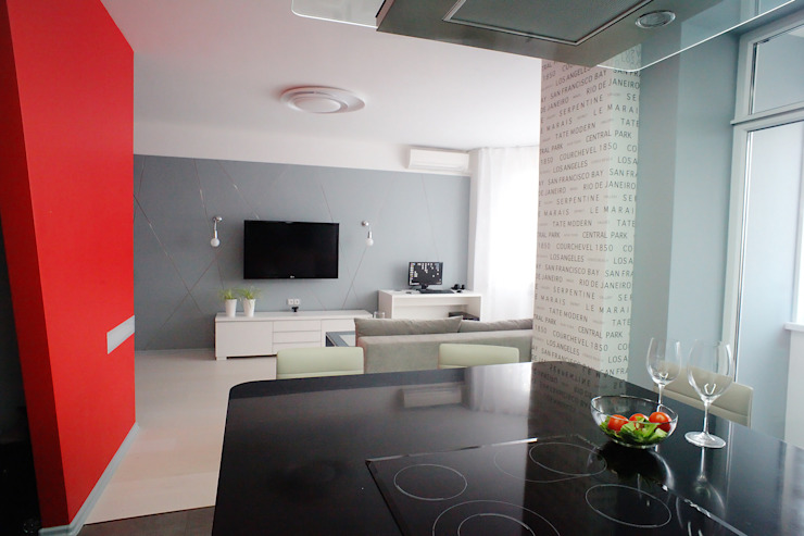 кухня-гостиная от Елена Савченко. Студия интерьера