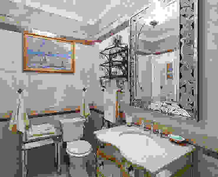 Ванная: Ванные комнаты в . Автор – Bituleva Project,