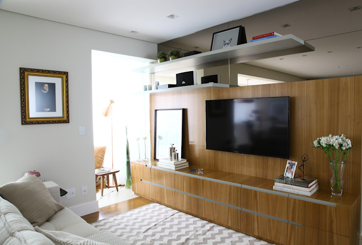 Modern style media rooms by ARQ_IN Modern