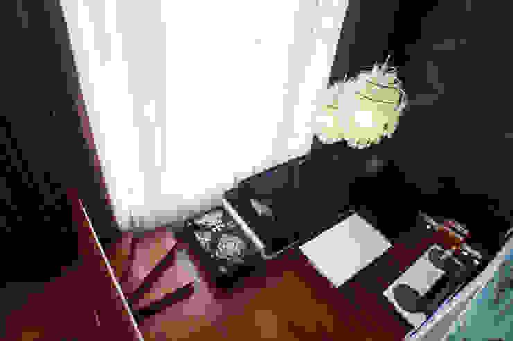 гостиная, вид с антресолей от Елена Савченко. Студия интерьера