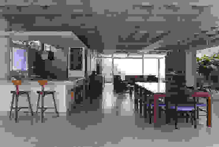 Casa Baleião Salas de jantar ecléticas por Gustavo Calazans Arquitetura Eclético