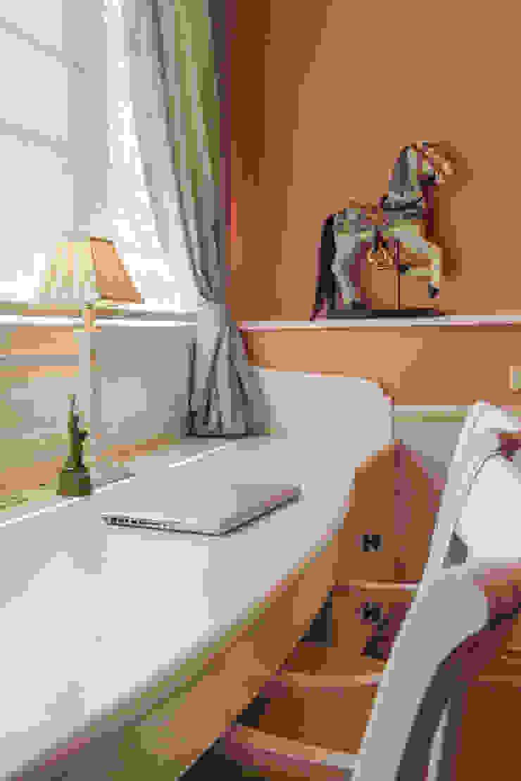 ДЕТСКАЯ Детские комната в эклектичном стиле от Bituleva Project Эклектичный