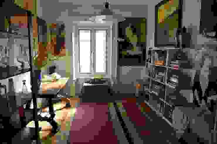 Reception Studio Fori Ingresso, Corridoio & Scale in stile eclettico