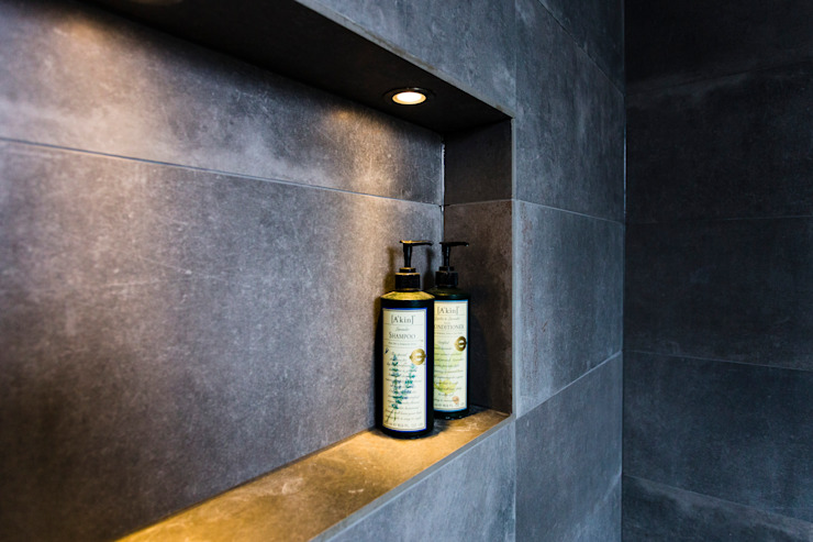 Wet room shelve Modern bathroom by Affleck Property Services Modern