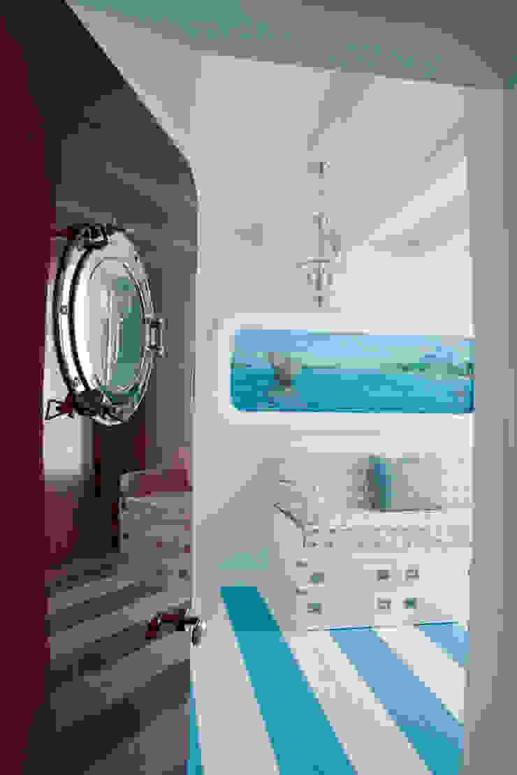 КВАРТИРА-ЯХТА Детская комнатa в средиземноморском стиле от 4d.studio Средиземноморский