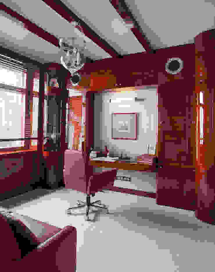 КВАРТИРА-ЯХТА Рабочий кабинет в средиземноморском стиле от 4d.studio Средиземноморский