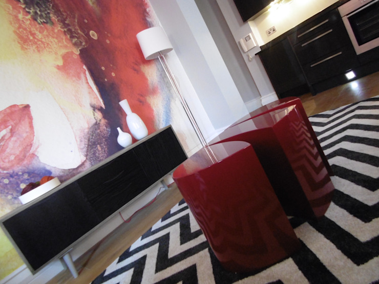 City Centre Apartment, Manchester, UK: modern  by Flawless Concepts Ltd, Modern