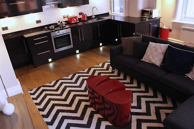 City Centre Apartment, Manchester, UK Modern kitchen by Flawless Concepts Ltd Modern