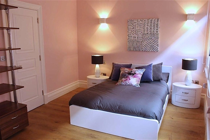 City Centre Apartment, Manchester, UK Modern style bedroom by Flawless Concepts Ltd Modern