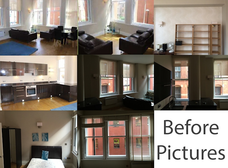 City Centre Apartment, Manchester, UK by Flawless Concepts Ltd