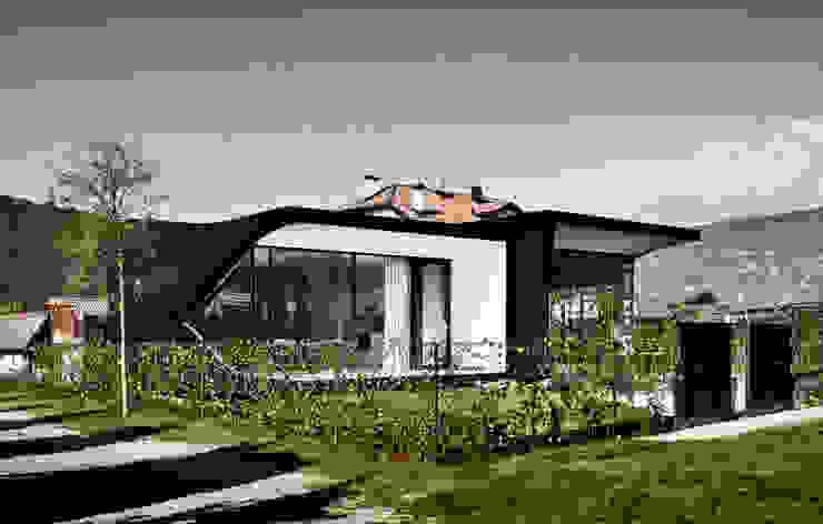 Mirror Houses Maisons minimalistes par Peter Pichler Architecture Minimaliste