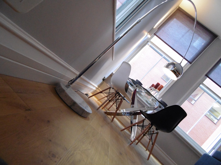 City Centre Apartment, Manchester, UK Modern dining room by Flawless Concepts Ltd Modern