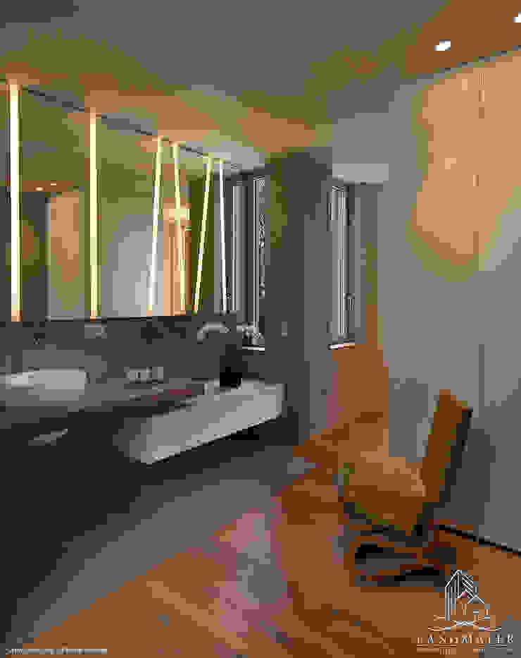 Bad Moderne Badezimmer von Langmayer Immobilien & Home Staging Modern