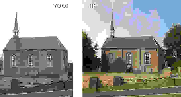 Verbouwing kerkje van SeC architecten